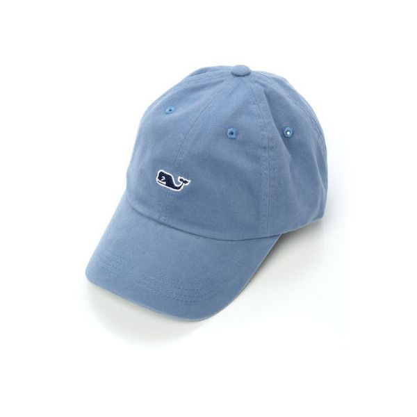 fbc0dc577ce1a Whale Logo Baseball Hat ( 20) ❤ liked on Polyvore featuring accessories