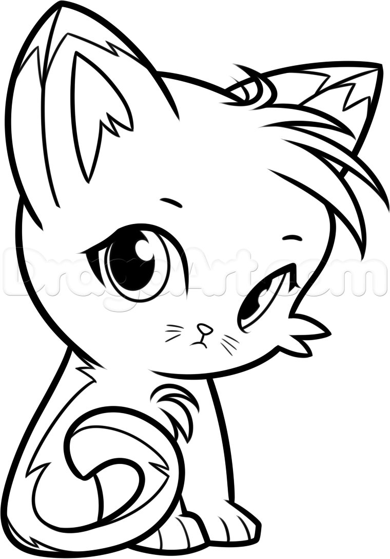 warrior cat cartoon coloring pages - photo#31