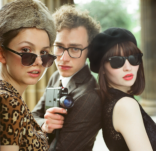 emily browning's look in god help the girl is everything i currently aspire to