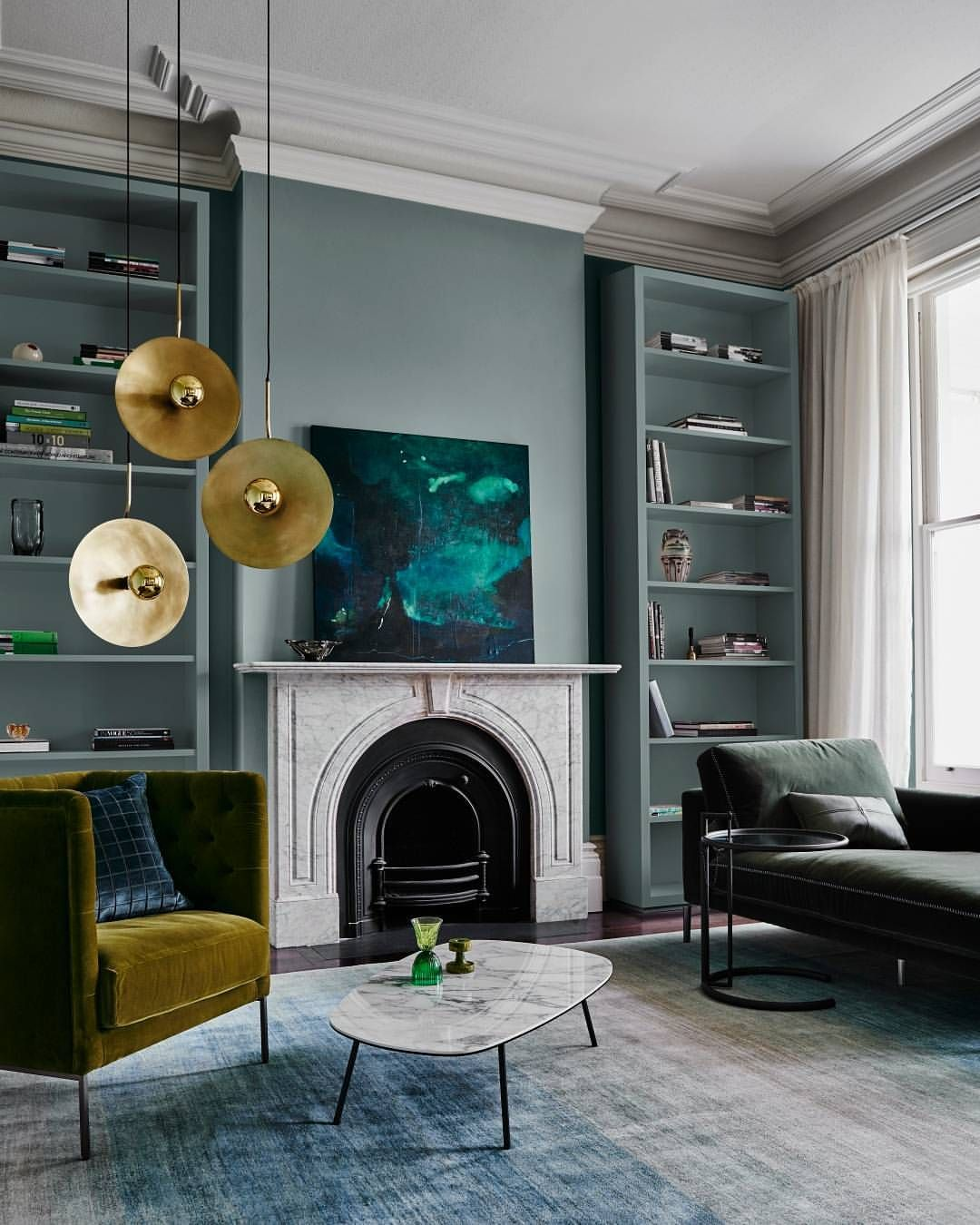 Spaces Created With The REFLECT Trend Exude A Moody