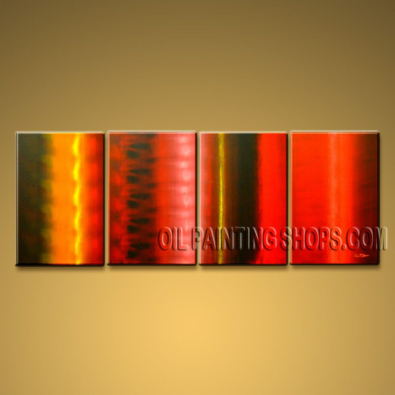 Hand Painted Large Modern Abstract Painting Wall Art Inner Stretched. In Stock $141 from OilPaintingShops.com @Bo Yi Gallery/ ops9043