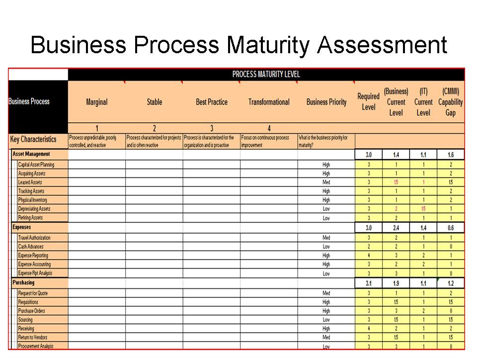 Conducting ERP Assessment to Maximize ERP ROI - training needs analysis template