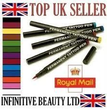 12 pcs Original Stargazer Semi Permanent High Quality Tattoo Pens Set & Corrector Pen Makeup Fancydress Body Art Designs Sleeves, 12 Colour Color Shades by Stargazer. $79.15. Corrector Pen. Semi Permanent 13pcs Tattoo Pen Set (12 Colours, 1 Corrector Pen). Great For Adding Style To Your Whole Look. Perfect For Fancy Dress & Fun- Long Lasting- Easy Wash off. Black, Maroon, Yellow, Brown, Light Green, Dark Green, Purple, Red, Light Blue, Dark Blue, Orange, Pink. The semi permane...