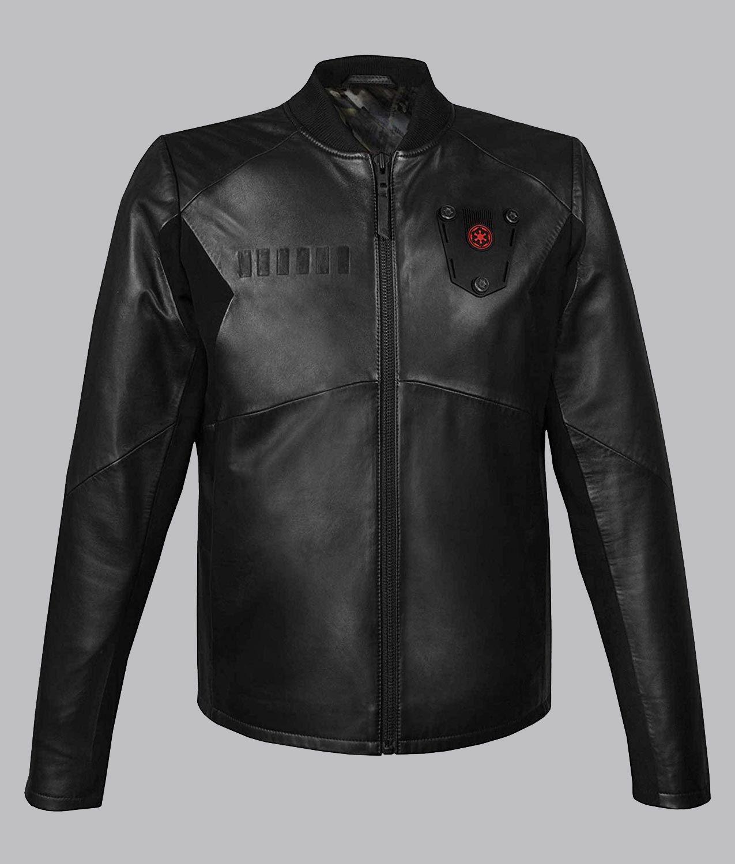 Star Wars Tie Fighter Pilot Jacket In 2021 Pilot Leather Jacket Tie Fighter Pilot Pilot Jacket