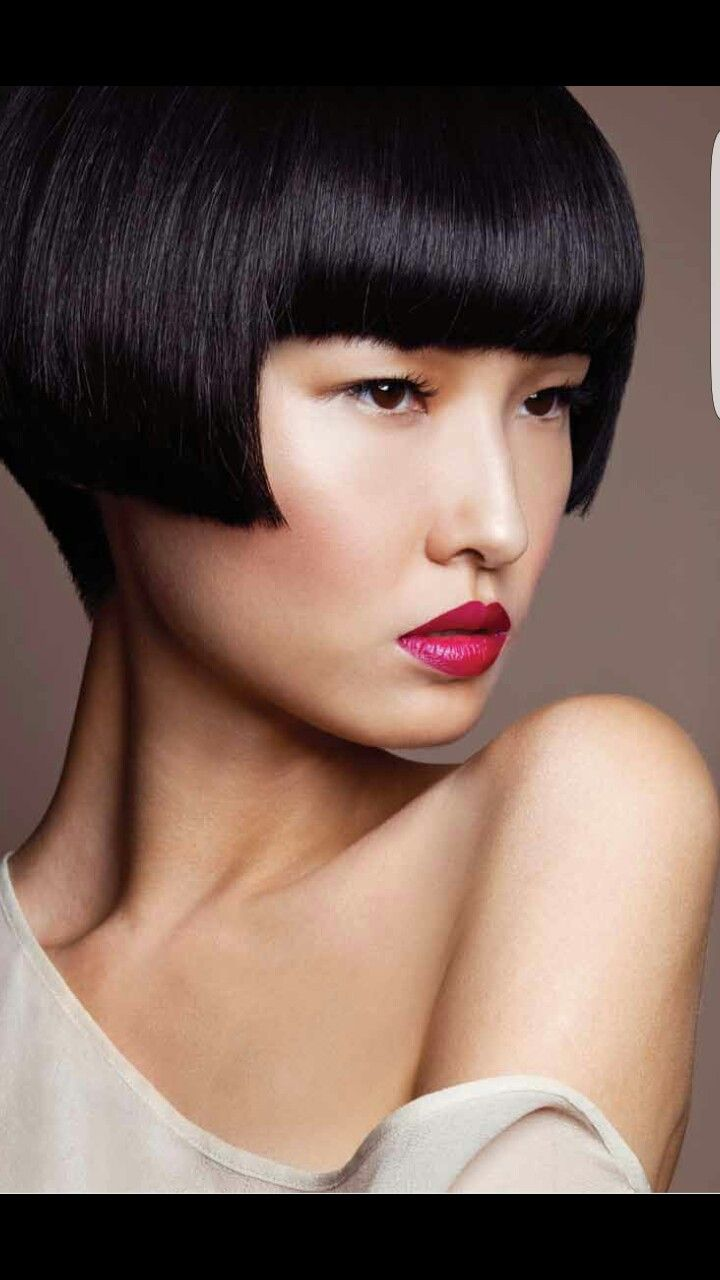 Asian Beauty  Chinese bob hairstyles, Hair styles 12, Bob