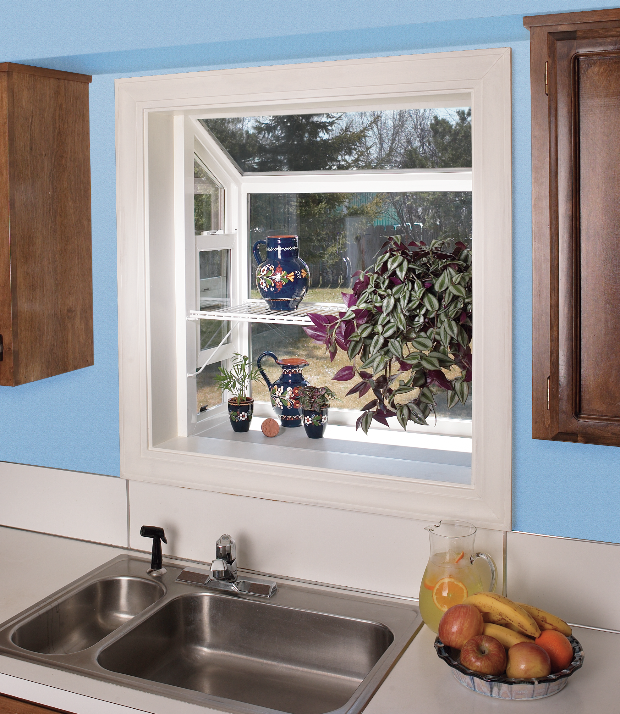 Kitchen With Bay Window Layout: JELD-WEN Doors & Windows