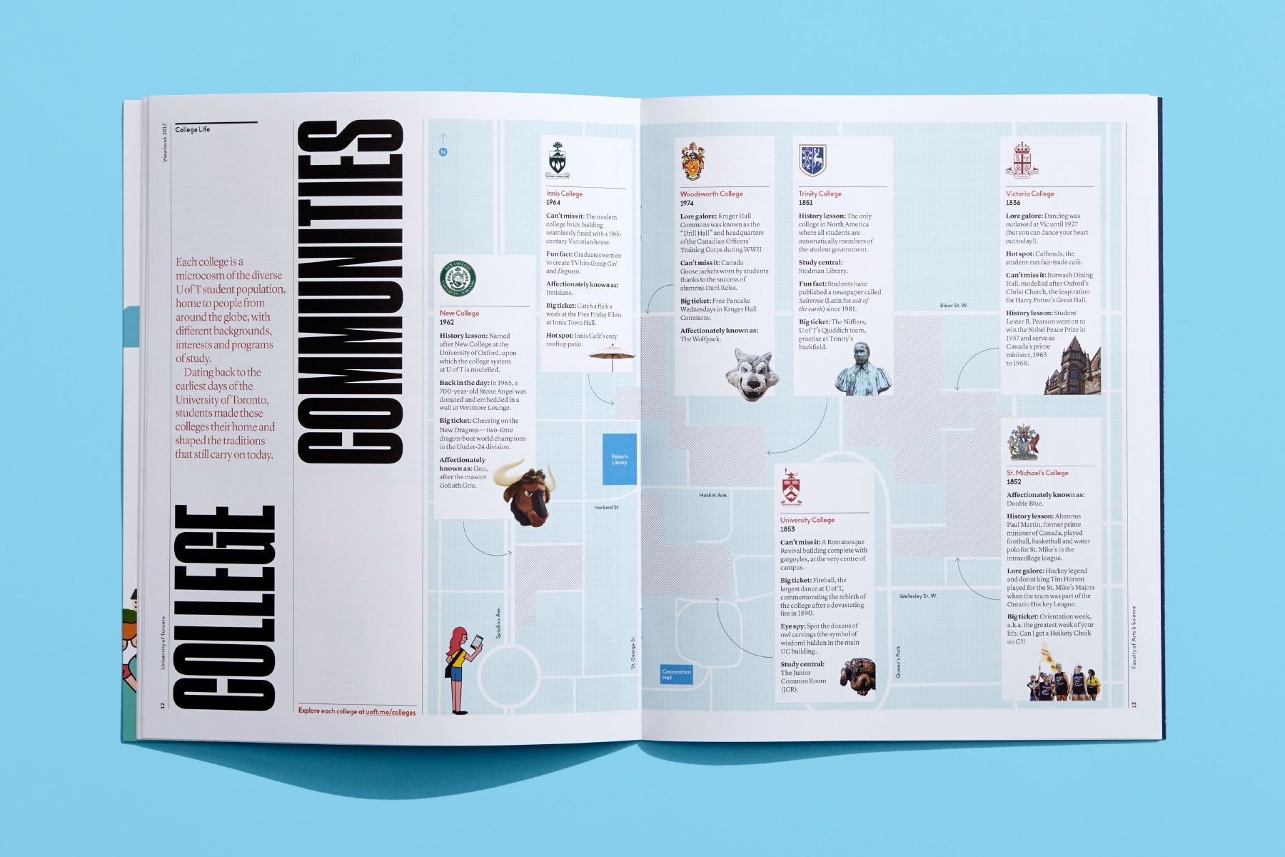 University Of Toronto Faculty Of Arts Science Underline Studio Graphic Design Firms Science Art Typography Layout