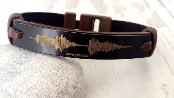 Photo of EXPRESS SHIPPING,Christmas gift 2019 , Soundwave Bracelet ,Personalized Bracelet leather bracelet, Male Bracelet, Custom Bracelet