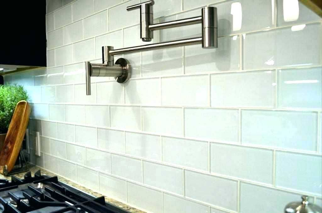 White Gl Tile Lowes With Images