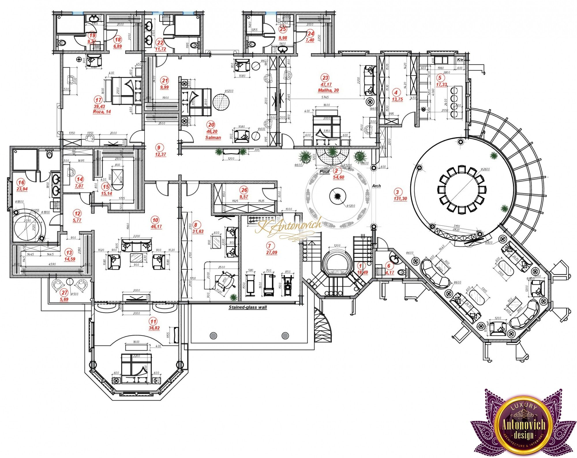 Luxury House Plan Tanzania Luxury House Plans House Plans Family House Plans