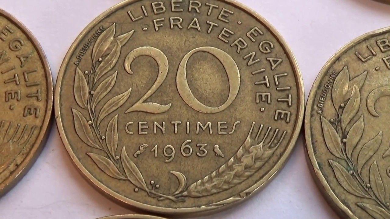 Eight 20 Cent One 10 Cent Francaise Coins Videos Pinterest