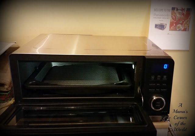 Panasonic Countertop Induction Oven Review ~ A Mama's Corner of the World
