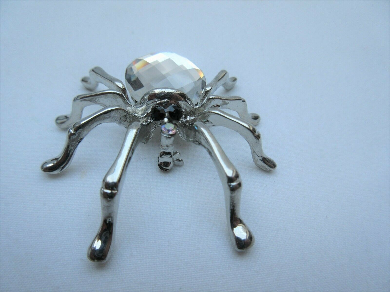 Costume Jewellery Jon Richard Large Black Silver Metal Spider Brooch Boxed Spider Jewelry Ideas Of Spider Jewelry Spider Jewelry Jewelry Spider Necklace