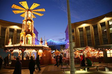 In Bristol, the Broadmead part of The Shopping Quarter will be home to the #GermanChristmasMarket. The 38 traditional decorated chalets, a Christmas nativity Pyramid and beer gardens combine to create a festive atmosphere in the heart of the city centre shopping area.