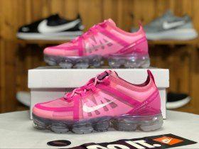 4815d4a5fb5 Nike Air VaporMax 2019 Purple Pink   Mtllc Sliver AR6632-600 Womens Running  Shoes