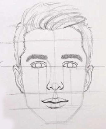 Como Desenhar Rosto Masculino Em 10 Passos Desenhos De Rostos