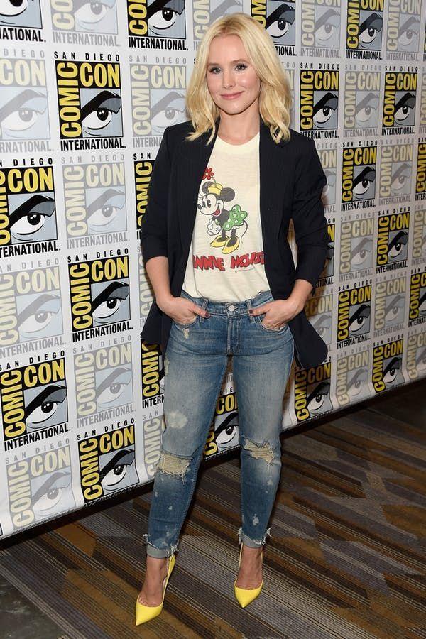 8 total mühelose Kristen Bell Outfits die so einfach zu kopieren sind