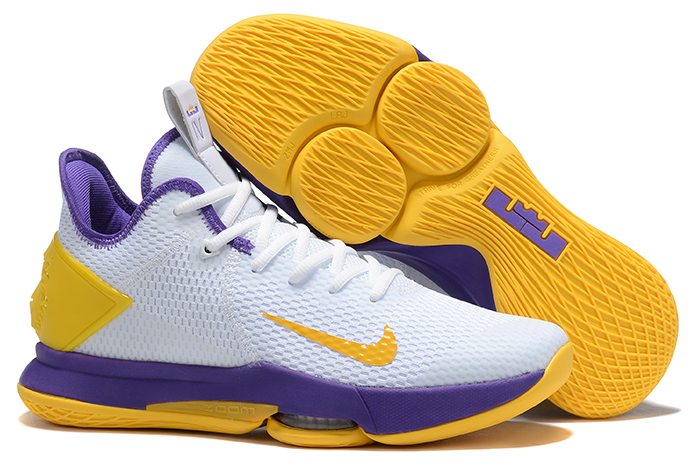 2020 Nike LeBron Witness 4 IV EP White