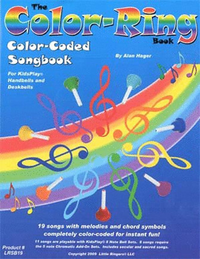 COLOR-RING SONGBOOK Paperback - by Alan Hager. Color-coded to ...
