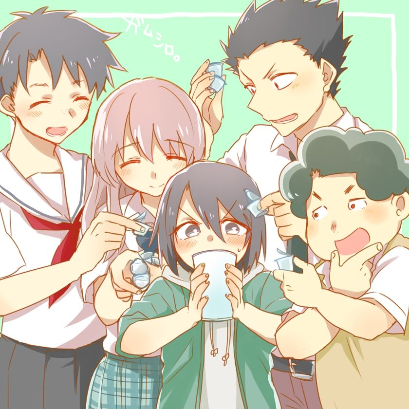 Koe No Katachi A Silent Voice Oh The Feels In This One It Takes A Realistic View On Bullying From The Perspective Of A Former A Silent Voice Manga