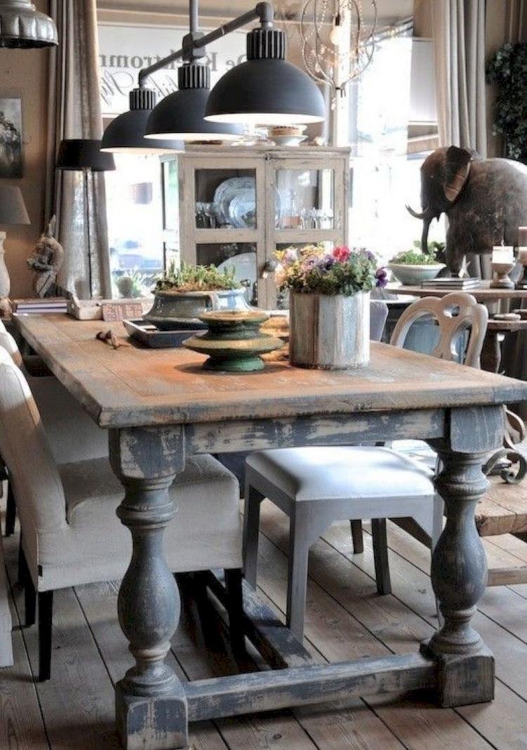 40 Cozy Farmhouse Dining Room Design Ideas Farmhouse