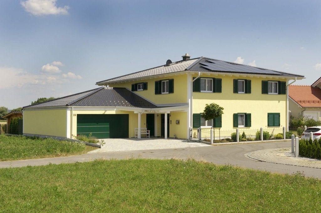 Traumhaus im toskanischen Stil Frontansicht Traumhaus im