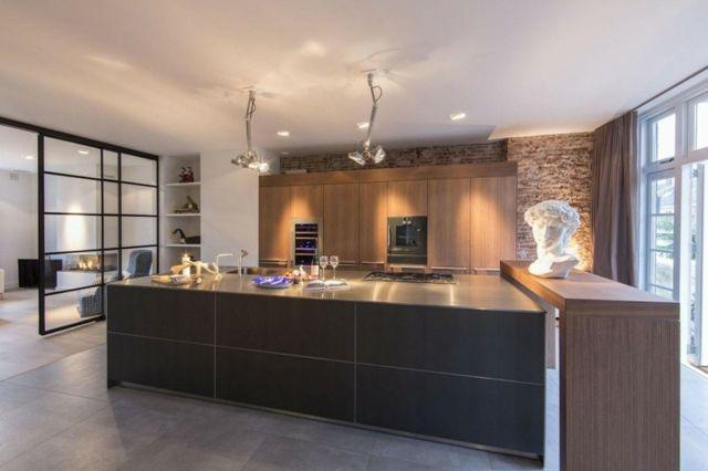 99 idées de cuisine moderne où le bois est à la mode | Murs de ...