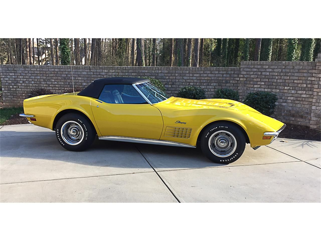 1971 Chevrolet Corvette Cc 964153 For Sale In Lake Wylie South