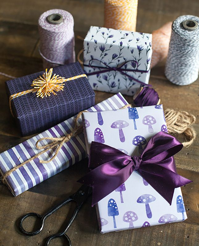 Wrap it up with 18 free printable gift wraps printable wrapping gear up for the holidays with these gift wrapping tips negle Gallery
