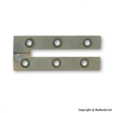 Card Table Hinge   127mm X 9mm   Antique   Pair, Hardware, General  Cabinetware