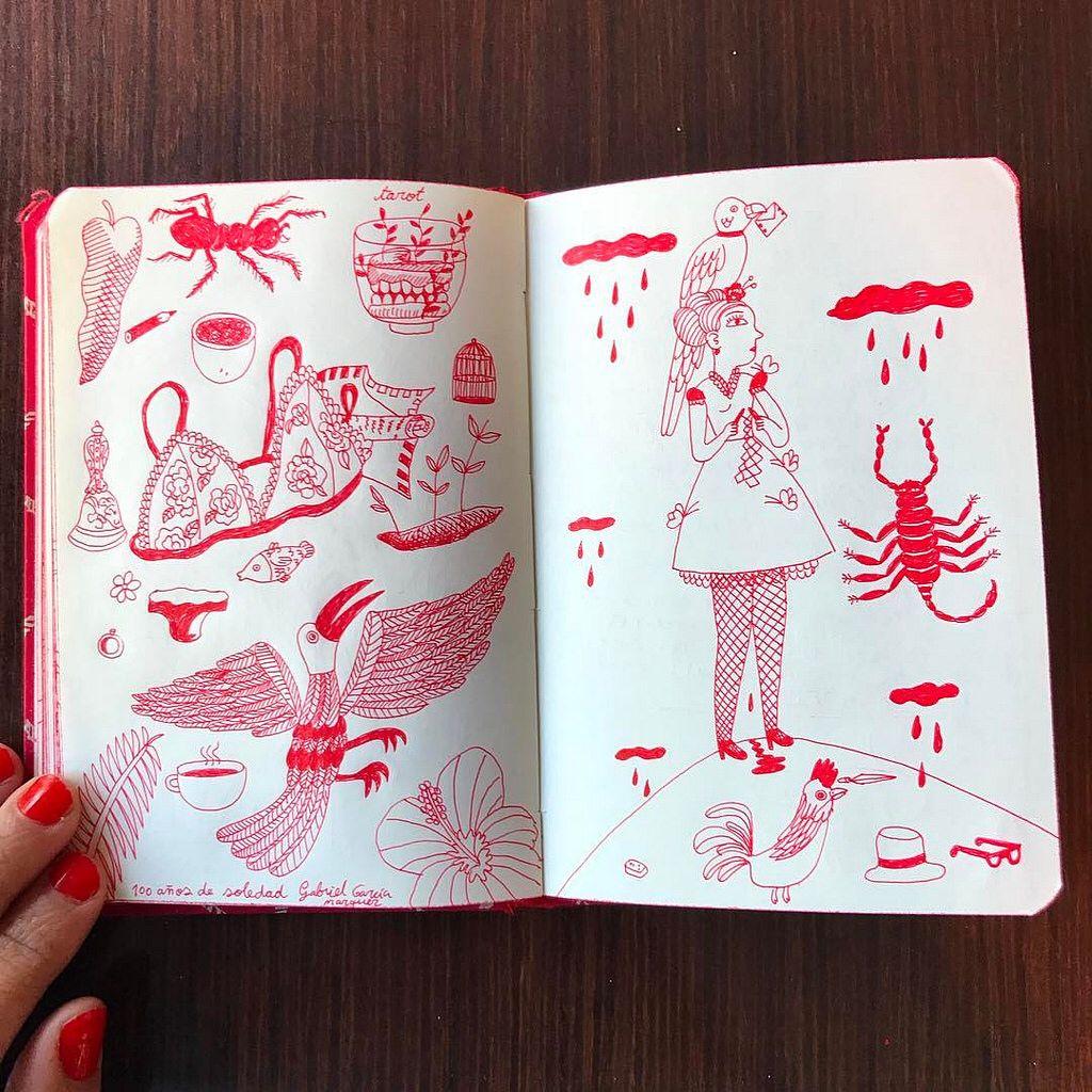 #bocetos #macondo  ❤️♦️