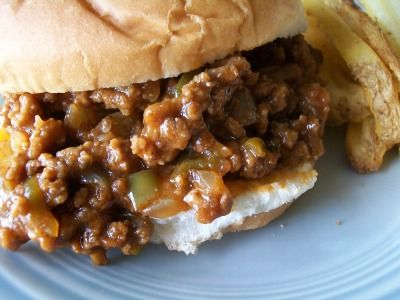 Basic Sloppy Joe recipe made in the crock-pot.   Family Favorite!  Easy to make. Way better than the sloppy joe mix that you buy in the can.