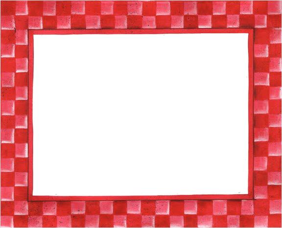 Borde de color rojo para imprimir pl stica pinterest - Cuadros con marco blanco ...