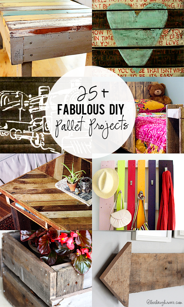 25 Fabulous Home Offices That Unleash Mediterranean Magic: 25+ Fabulous DIY Pallet Projects