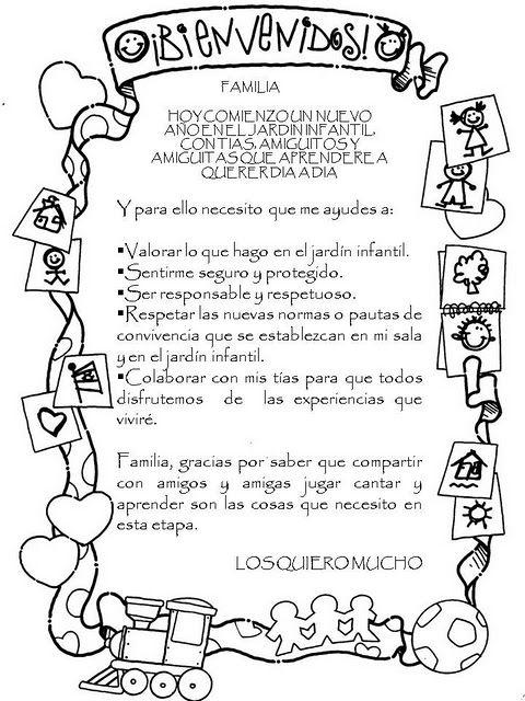 Mensajes Inicio Ano Escolar Para Imprimir Cuaderno De Comunicaciones Nuevo Ano Escolar Mensaje De Bienvenida