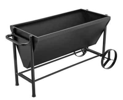 Find Groundwork Metal Rolling Planter 49 In X 23 In Pt1002 In The Planters Category At Tractor Supply Co Grow A Move A In 2020 Tractor Supplies Planters Groundwork