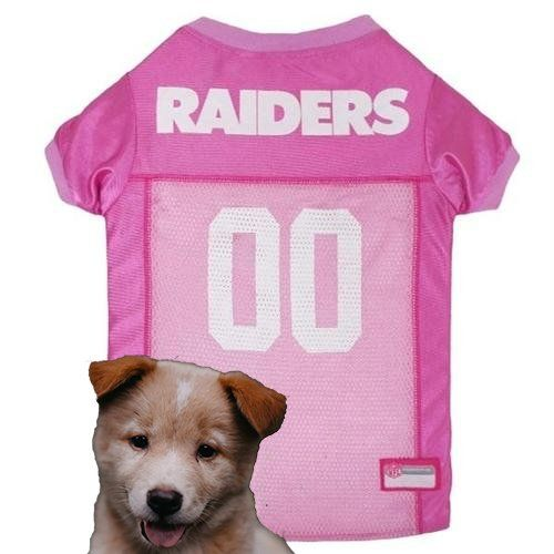 77b565727 Nfl Football · Oakland Raiders Pink Dog Jersey  18.99 ships free. Get your  pet ready for the game