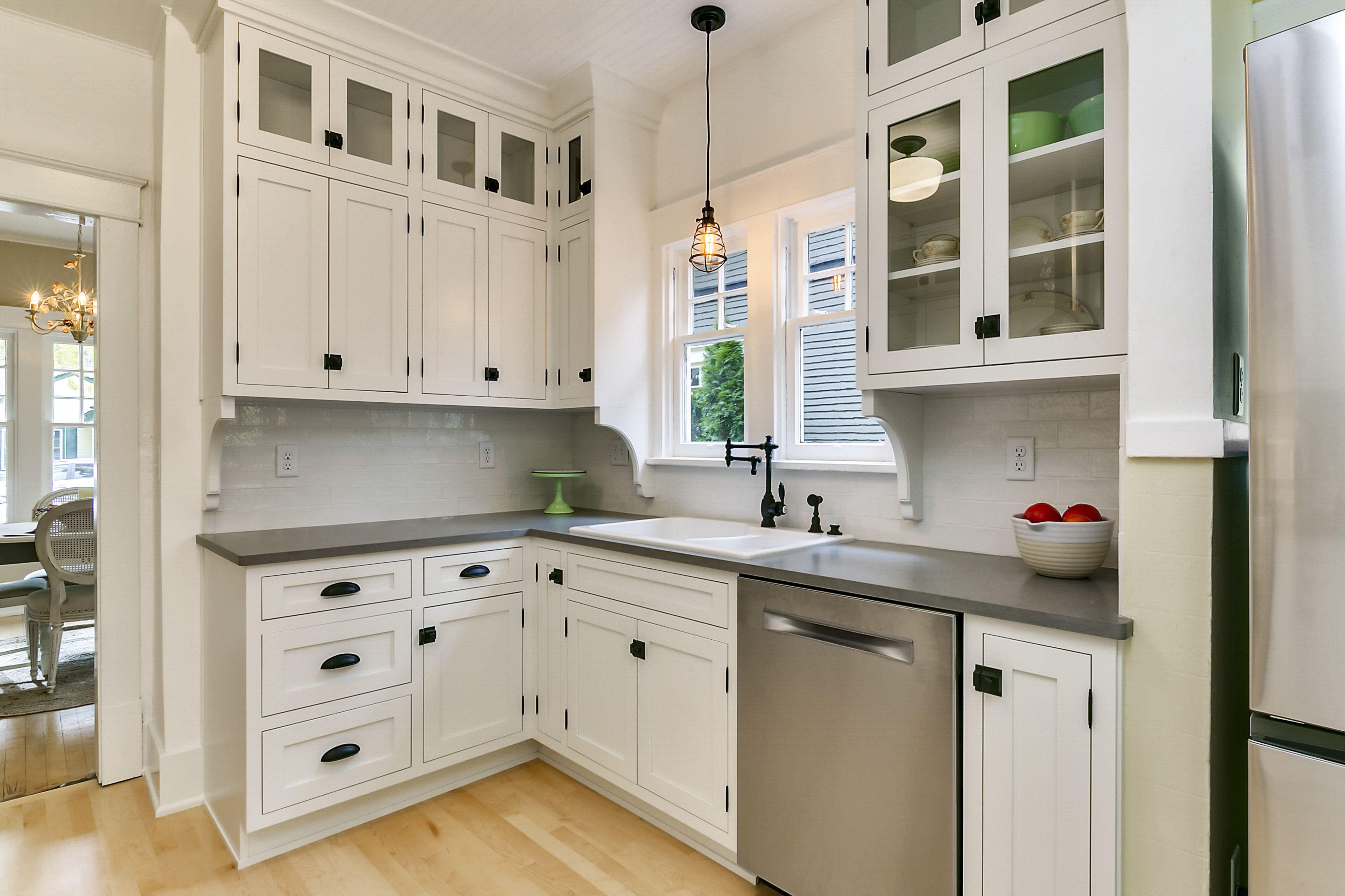 New Kitchen Craftsman Kitchen Cabinets Kitchen 1920s Kitchen