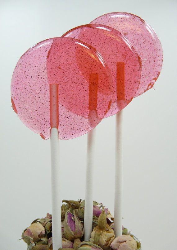 Honey Rosewater Cardamom Lollipop
