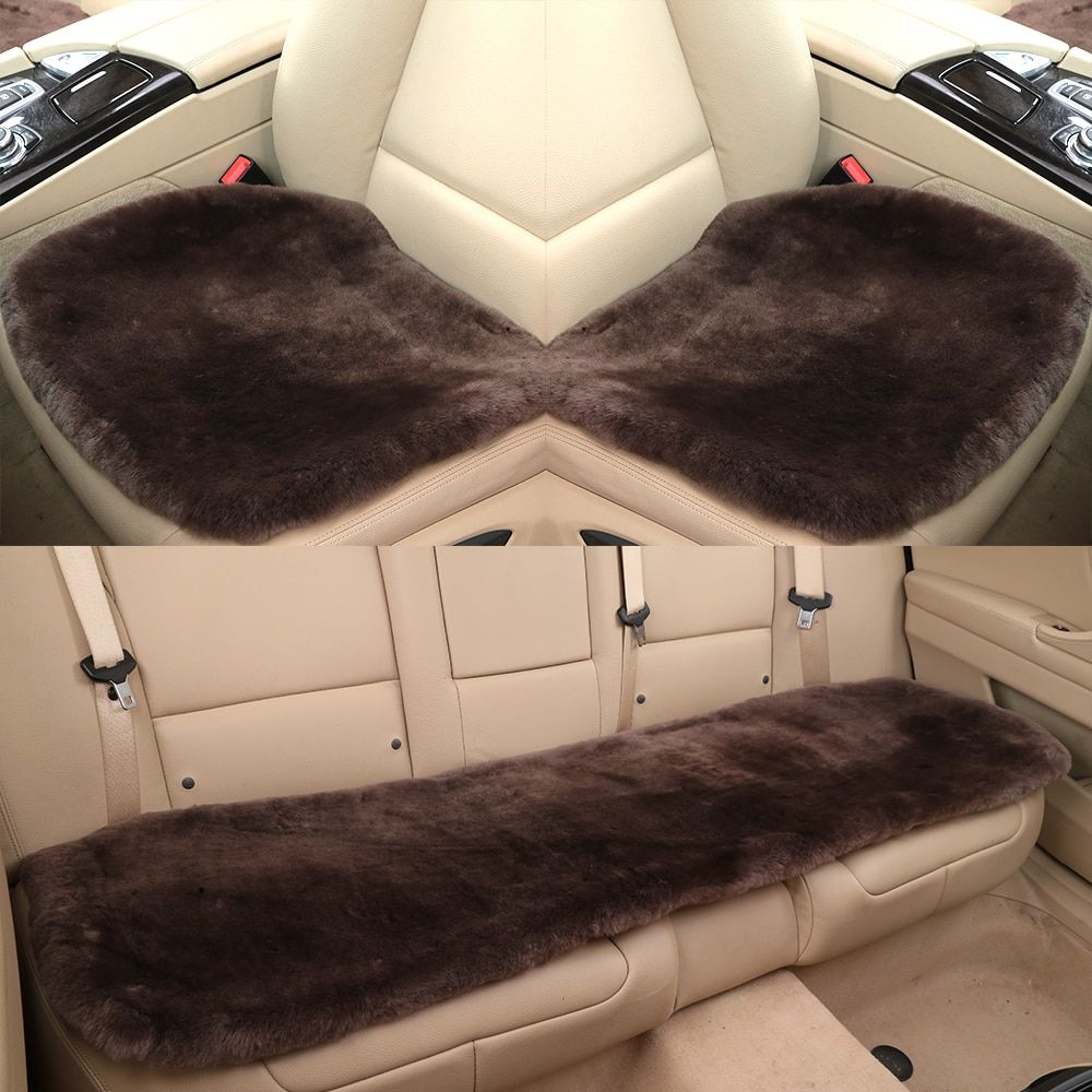 Car Seat Cushions Australia Ogland Natural Fur Comfort Authentic Fluffy Sheepskin Car Seat