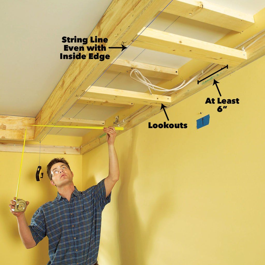 How To Build A Soffit Box With Recessed Lighting Manual Guide