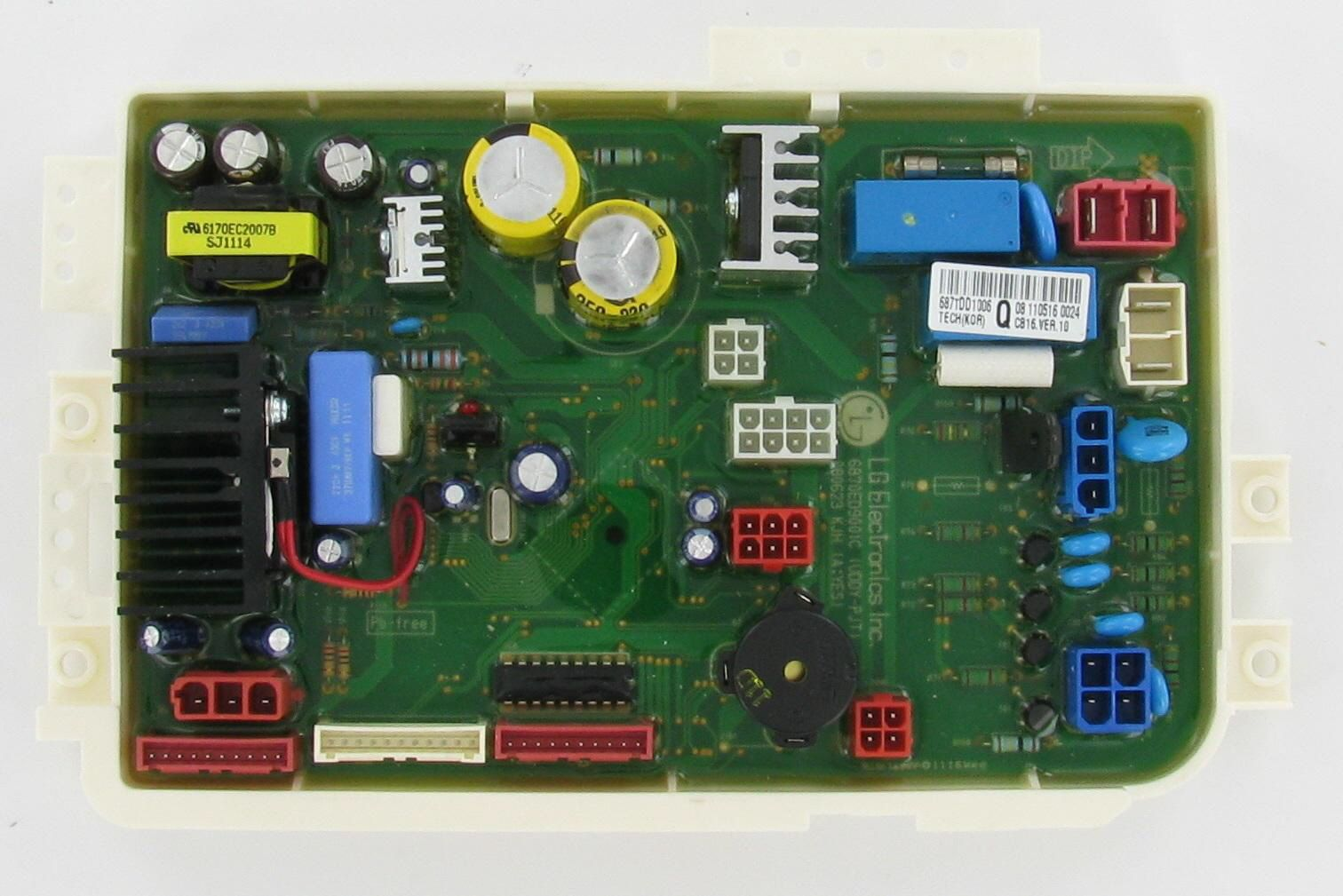 Lg 6871dd1006q Dishwasher Pcb Assembly Main Control Board Boards Broken Appliance Dishwasher