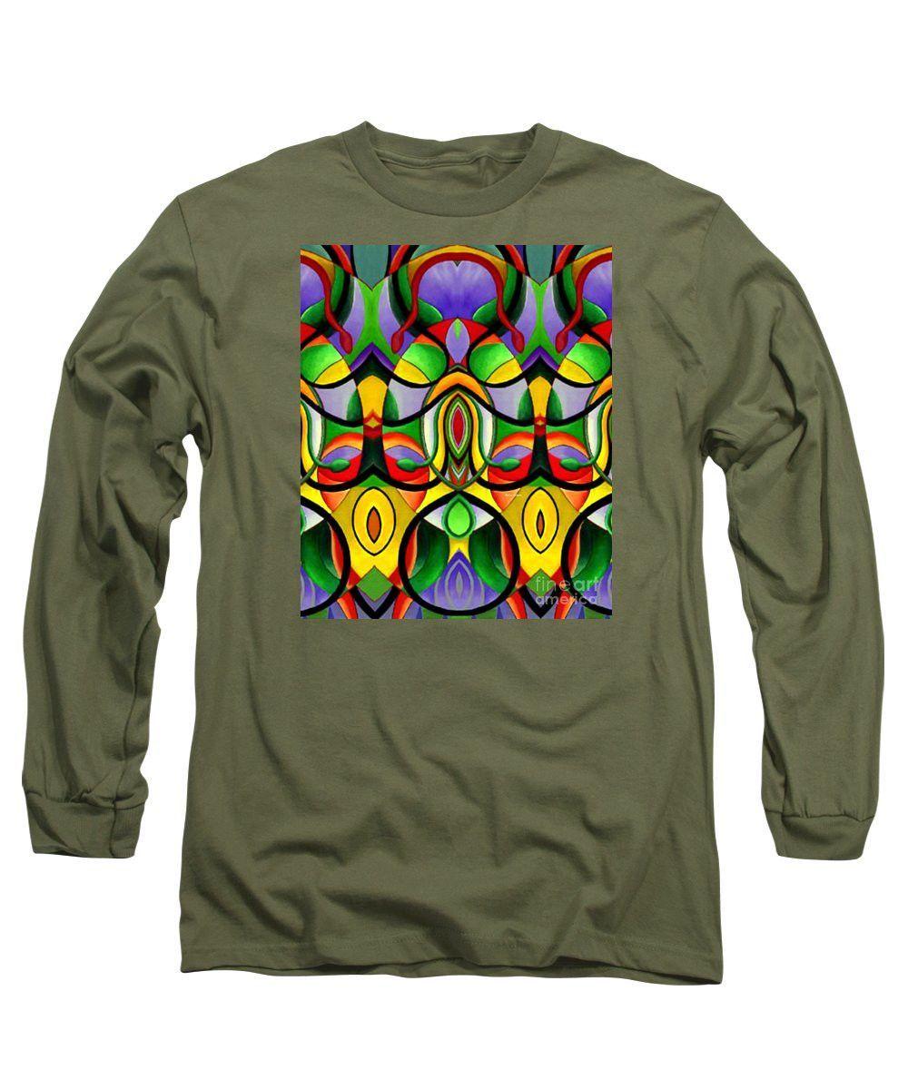 Long Sleeve T-Shirt - Mandala 9703