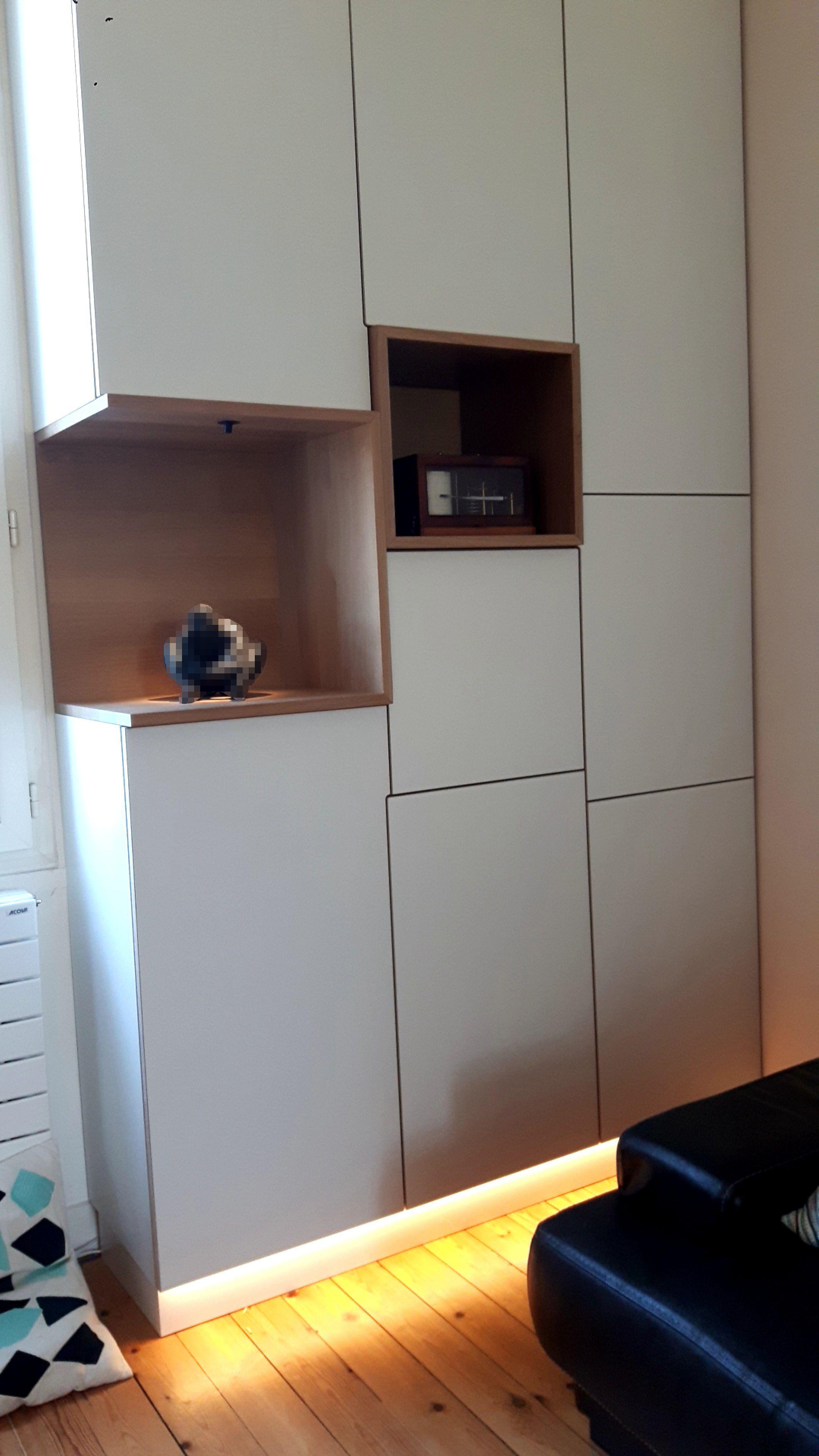 caisson sur mesure caisson cuisine sur mesure du moment cuisine sur mesure amacnagace avec. Black Bedroom Furniture Sets. Home Design Ideas
