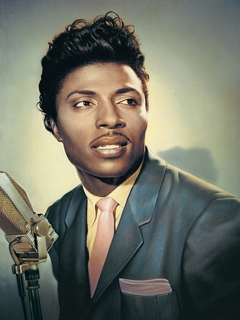 Little Richard Letting His Fans Know That The Beauty Is Still On