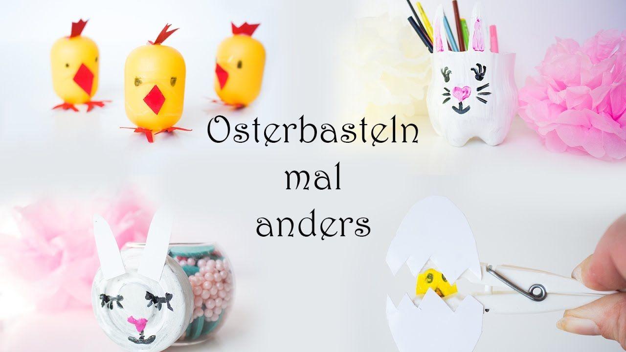 🌸Großes Osterbasteln🌸 10 Ideen zum Basteln mit Kindern zu Ostern | Mama ...