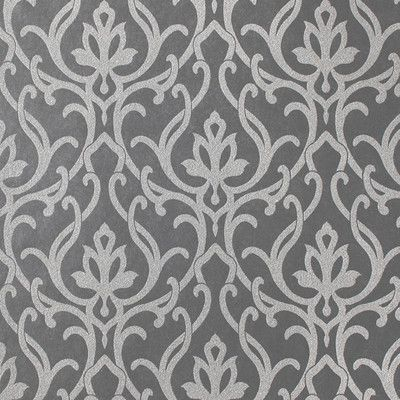 """York Wallcoverings Candice Olson Shimmering Details Dazzled 27' x 27"""" Damask Wallpaper"""
