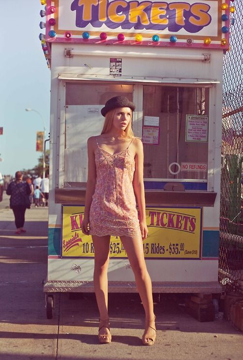 Test shoot with Lynden at Coney Island No. 2