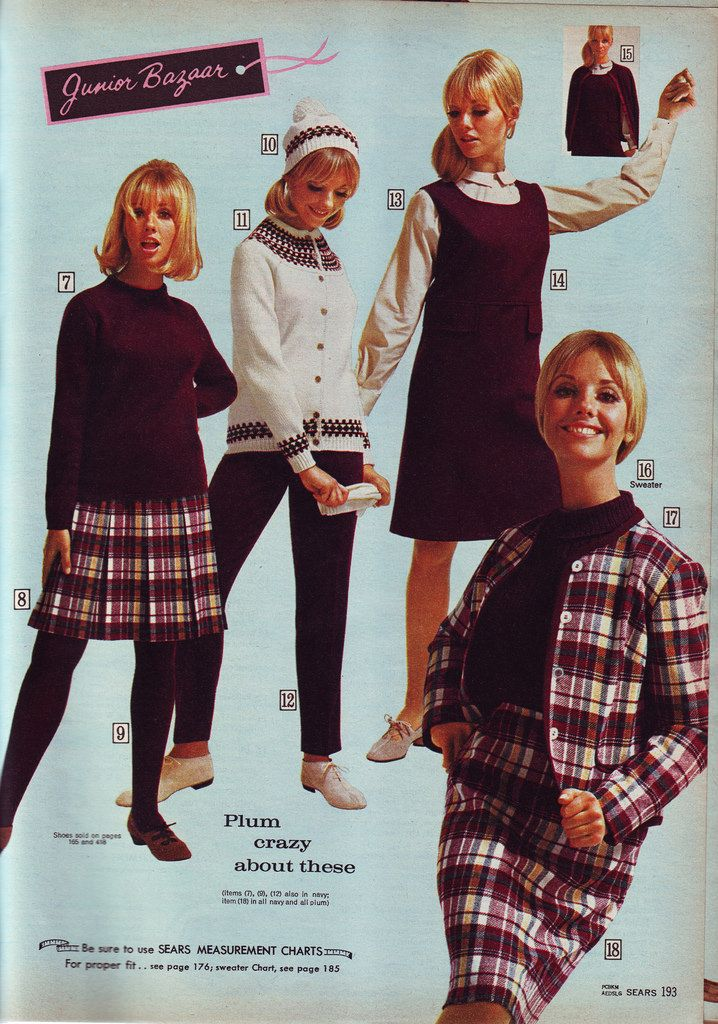 Sears 66 fw purples and plaids