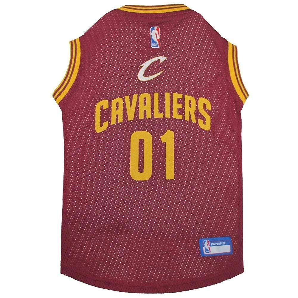 the latest d6bb6 61aee CLEVELAND CAVALIERS DOG JERSEY. THE OFFICIALLY LICENSED ...